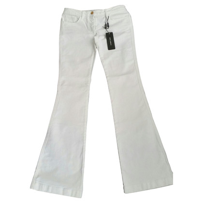 D&G Weiße flared jeans