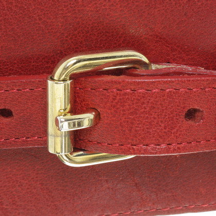 Hugo Boss Waist belt in red