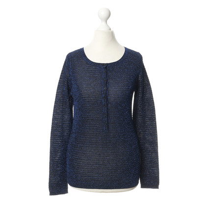 Maje Sweater with metallic fibers