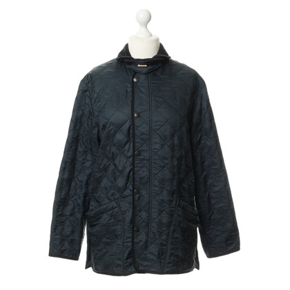 Barbour Doorgestikte jack in blauw