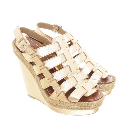 Christian Louboutin Wedges metalen zoeken
