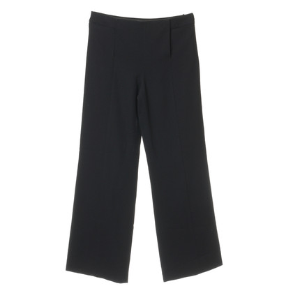Chanel Wide trousers with Crêpe optics