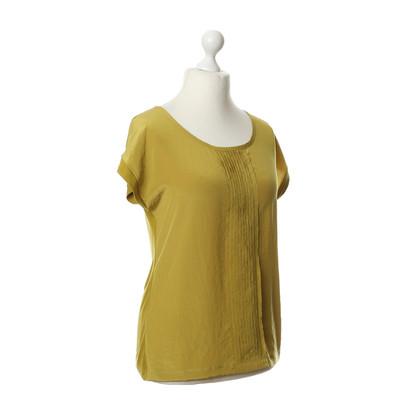 Luisa Cerano Shirt met plooien detail
