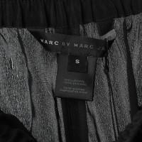 Marc by Marc Jacobs Schwarze Seidenhose