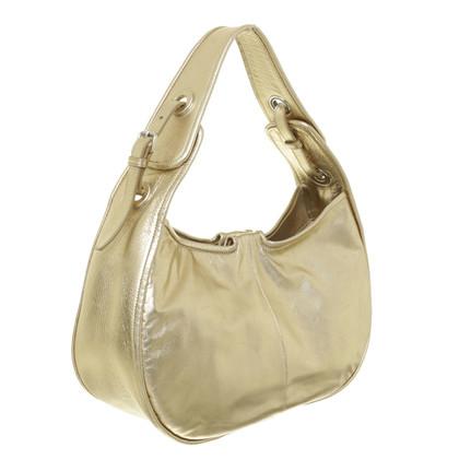 Jil Sander Gold shoulder bag