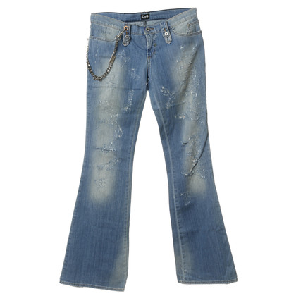 D&G Jeans im Destroyed-Look