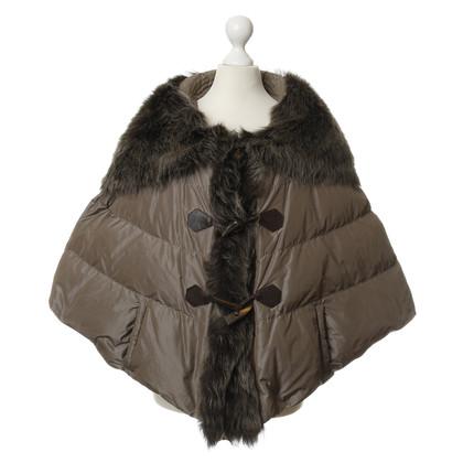 Other Designer Violanti - Cape with fur collar
