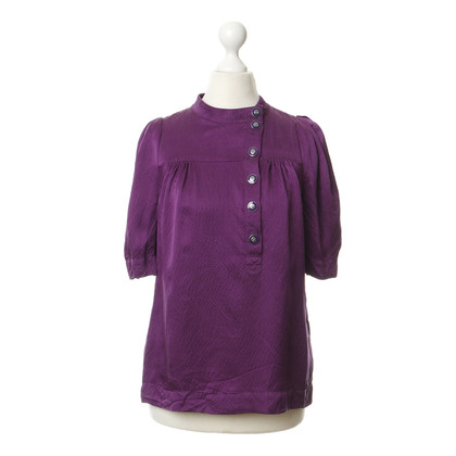 Marc by Marc Jacobs Silk blouse in purple