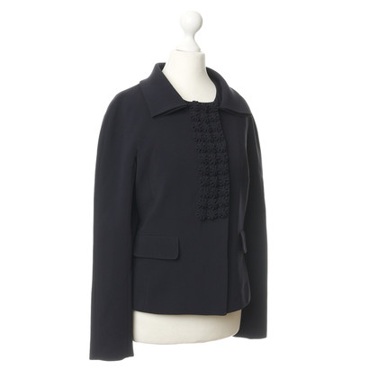 Rena Lange Jacke mit Zier-Besatz