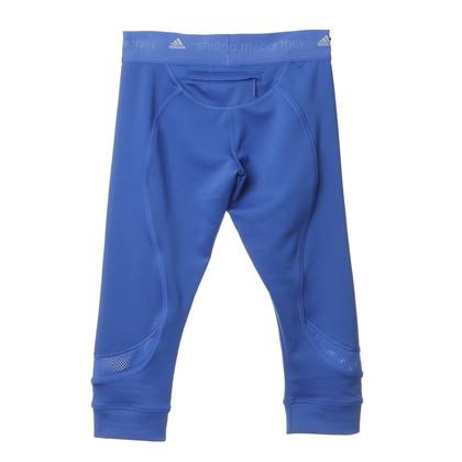 Stella McCartney for Adidas Pantaloni sportivi in blu cobalto
