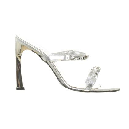 La Perla Sandaletten mit Strass-Besatz