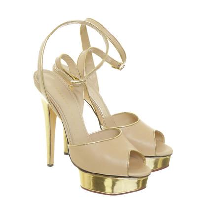 "Charlotte Olympia Plateau Sandals ""Irina"""