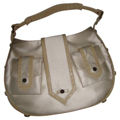 Hugo Boss Leather and silk bag