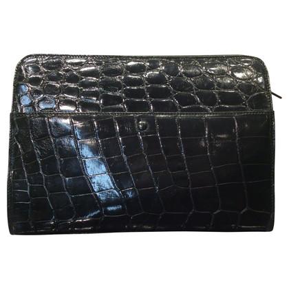 Jil Sander Tasche aus Krokodilleder