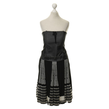 Jean Paul Gaultier Dress with black and white pattern