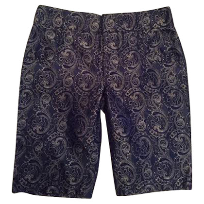 Balenciaga Silk shorts with pattern