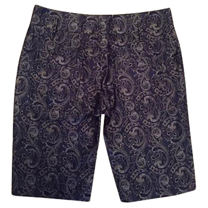 Balenciaga Silk shorts with pattern
