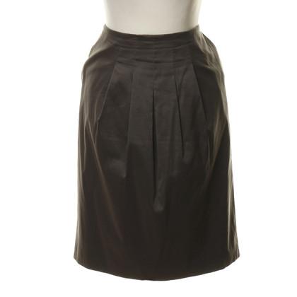 Hugo Boss Grey skirt with wrinkles