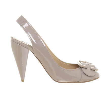 Chloé Sling-Pumps in Taupe