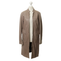 Aigner Leather jacket in Taupe