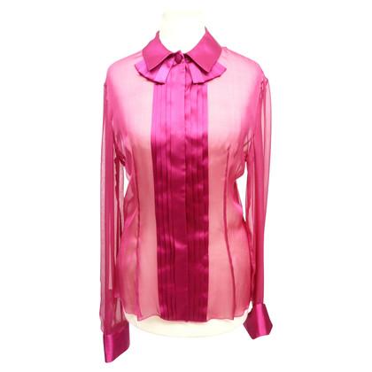 Giorgio Armani Zijde blouse