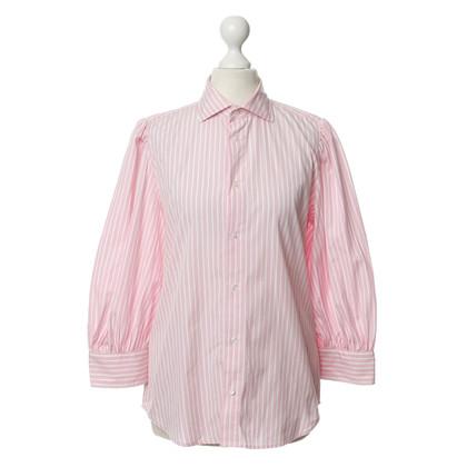 Ralph Lauren Cotton shirt with a pink stripe look