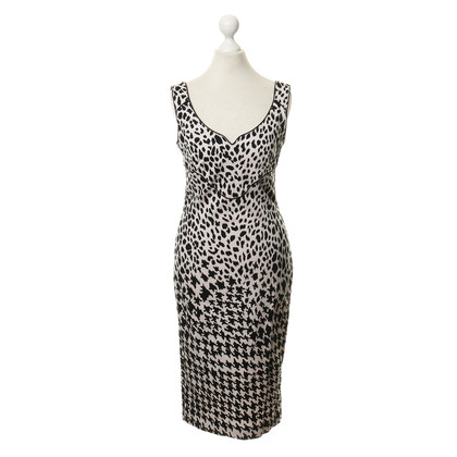 Alexander McQueen Dress with pattern mix