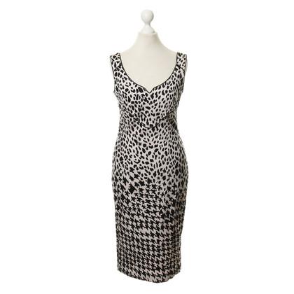 Alexander McQueen Kleid mit Muster-Mix