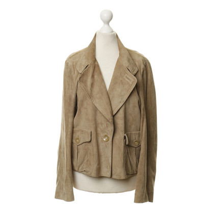 Aigner Beige leather jacket