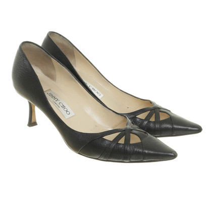 Jimmy Choo Pumps with strap details