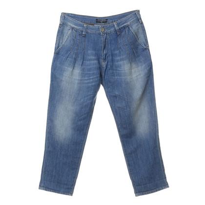 Karl Lagerfeld Boyfriend jeans met wassen