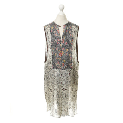 Isabel Marant Silk dress with floral print