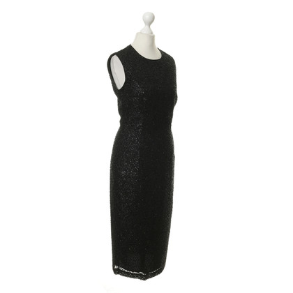Reiss Sparkling dress in black