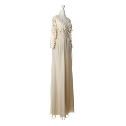 Hoss Intropia Evening dress made of silk with lace