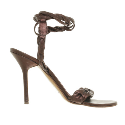 Casadei Sandals with a bronze shimmer