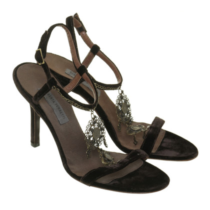 Alberta Ferretti Sandals made of velvet
