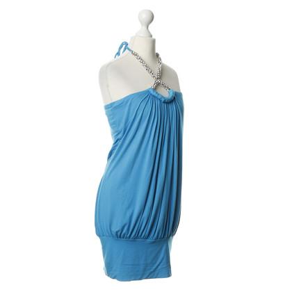 Sky Neckholder dress with Rhinestones