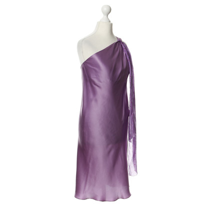Just Cavalli Silk dress in purple
