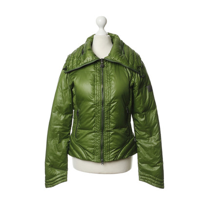 Armani Jeans Quilted Jacket in green