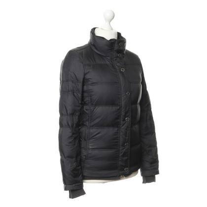JOOP! Zwarte gewatteerde jas