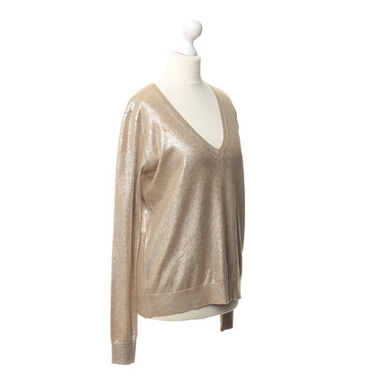 Equipment Pullover con riflessi metallici