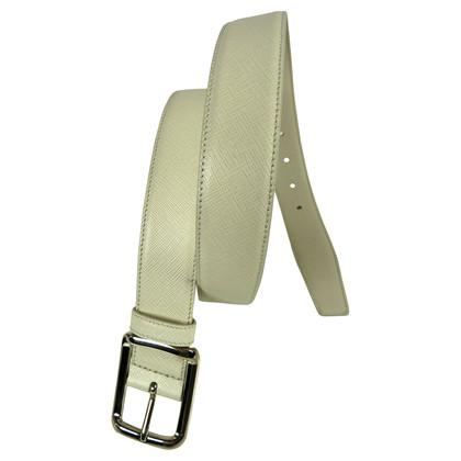 Prada Cream coloured belt