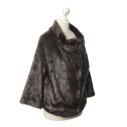 Stefanel Web fur jacket