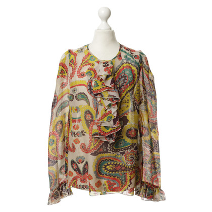 Paul & Joe Blouse with creative Paisley Muster