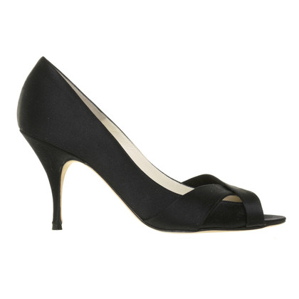 Brian Atwood Pumps in satin look