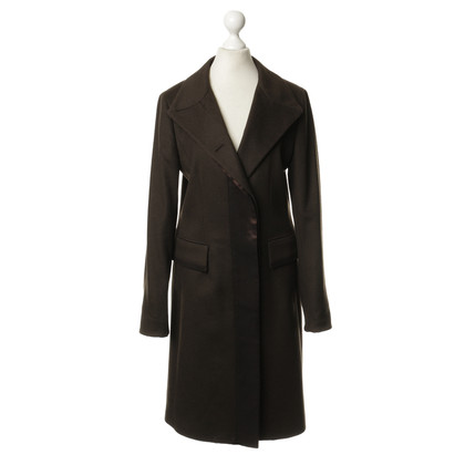 Aigner Brown coat wool and Angora