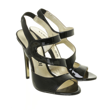 Versace for H&M Sandals patent leather