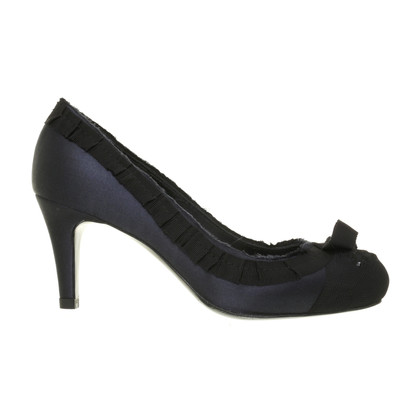 Pedro Garcia Pumps in Satinoptik