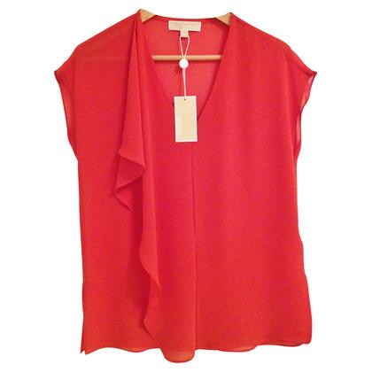 Michael Kors Vrouwelijke crêpe blouse