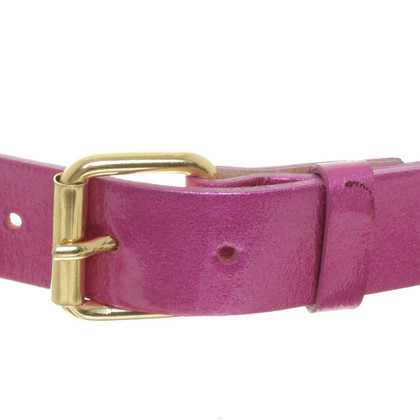 Matthew Williamson for H&M Patent leather belt with rivets